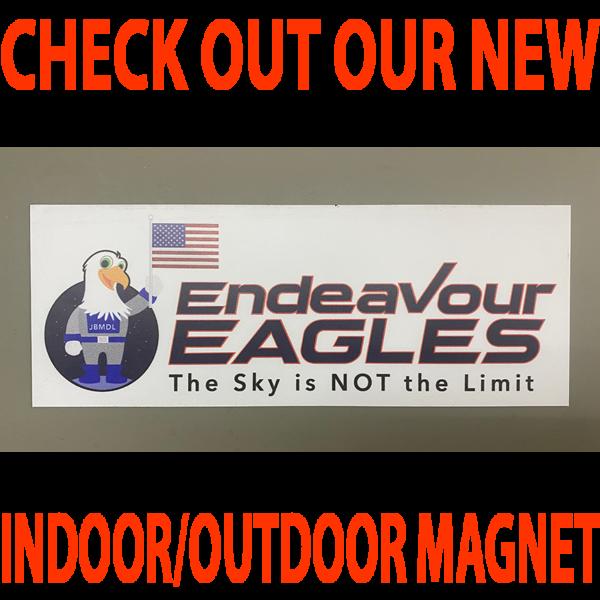 Endeavor Indoor/Outdoor Magnet 10″x3.75″