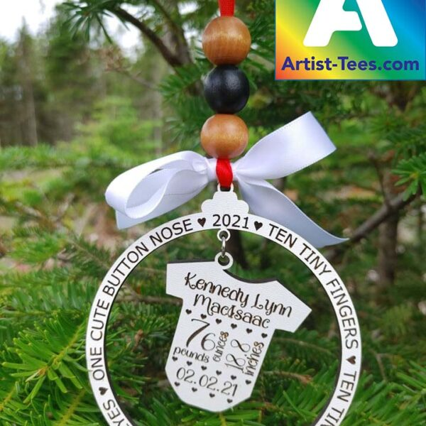 New Baby Personalized Ornament